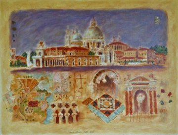 Santa Maria Della Salute PP 1998 Limited Edition Print - Roy Fairchild-Woodard