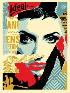 We the People, Ideal Power 2017 Limited Edition Print - Shepard Fairey