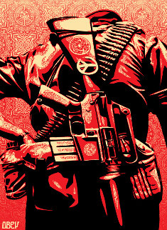 Duality of Humanity 3 2008 Limited Edition Print - Shepard Fairey