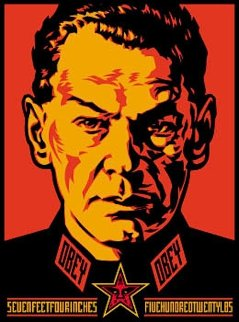 Authoritarian 2000 Limited Edition Print - Shepard Fairey
