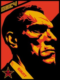 Big Brother Profile 2000 Limited Edition Print - Shepard Fairey