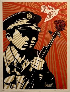 Chinese Soldiers 2006 Limited Edition Print - Shepard Fairey
