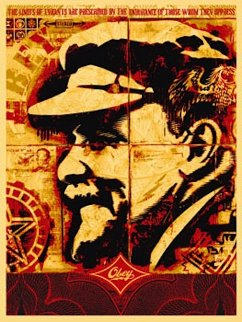 Lenin Record 2005 Limited Edition Print - Shepard Fairey