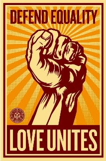 Love Unites 2008 Limited Edition Print - Shepard Fairey