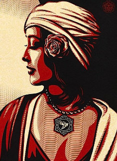 Obey Harmony Relief 2012 Limited Edition Print - Shepard Fairey