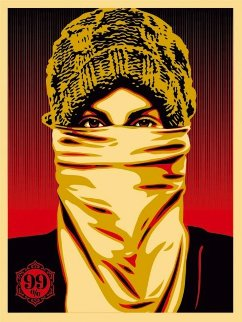 Occupy Protester 2012 Limited Edition Print - Shepard Fairey