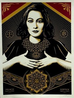 Peace and Justice 2013 Limited Edition Print - Shepard Fairey