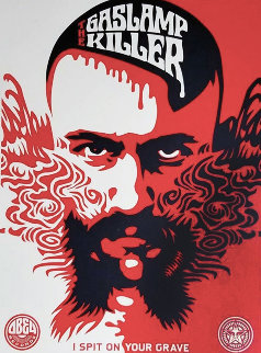 Gaslamp Killer  2008 Limited Edition Print - Shepard Fairey