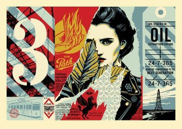 Wrong Path Large Format 2018 Limited Edition Print - Shepard Fairey