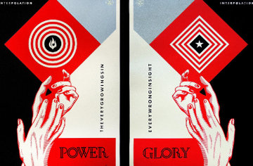 Interpolation Diptych AP 2014 Limited Edition Print - Shepard Fairey