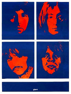 Four Giant Beatles 1996 Limited Edition Print - Shepard Fairey