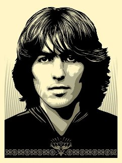 Poster For George Limited Edition Print - Shepard Fairey