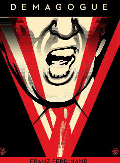 Demagogue 2016 Limited Edition Print - Shepard Fairey