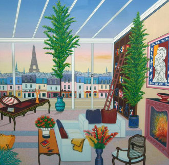 Salon Parisian 2002 Limited Edition Print - Fanch Ledan