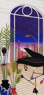 Chicago Nights 1998 Limited Edition Print - Fanch Ledan