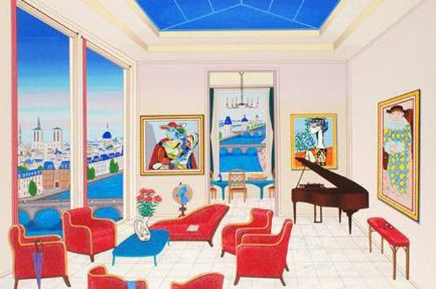 Interior With Four Picassos AP 1999
