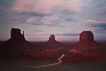 Twilight Traffic 1992  Panorama - Michael Fatali