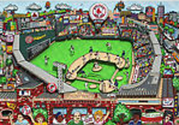 Red Sox 2004 World Series 2004 Limited Edition Print - Charles Fazzino