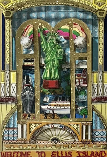 Celebration of Heritage 3-D 1999  Limited Edition Print - Charles Fazzino