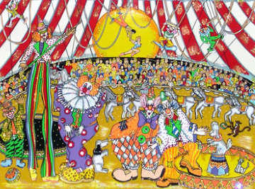 Circus Fun 3-D  2000   Limited Edition Print - Charles Fazzino