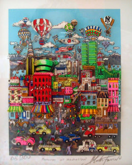 Memories of Manhattan 3-D Limited Edition Print - Charles Fazzino