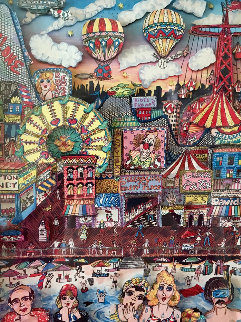 Coney Island 1986 3-D New York Limited Edition Print - Charles Fazzino