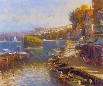 Bayside Village PP Limited Edition Print - Ming Feng