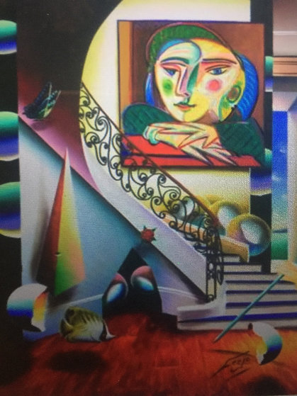 Face of Picasso 2000 41x30