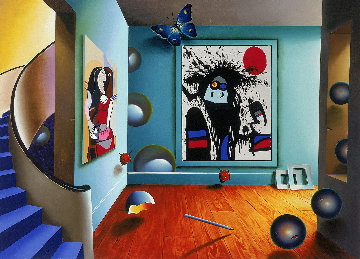 Picasso And Miro AP 1999 Limited Edition Print - (Fernando de Jesus Oliviera) Ferjo