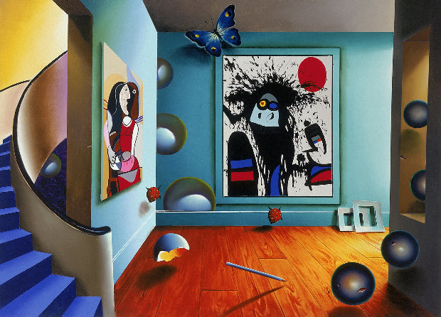 Picasso And Miro AP 1999
