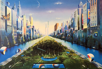 Journey to the Future AP 2003 Limited Edition Print - (Fernando de Jesus Oliviera) Ferjo