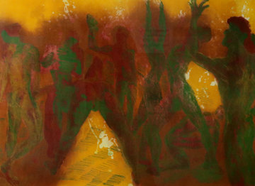 Party People 1989 Limited Edition Print - Rainer Fetting