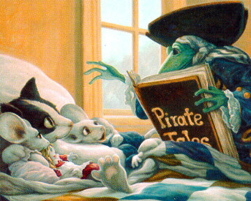 Pirate Tales Limited Edition Print - Leonard Filgate