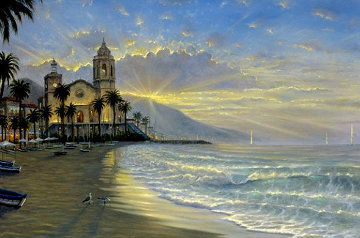 Costa Azul AP 2006 Embellished Limited Edition Print - Robert Finale