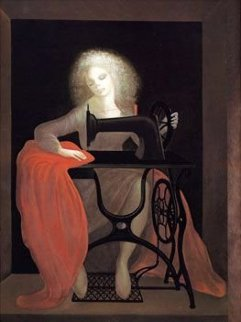 Sewing Machine 1979 Limited Edition Print - Leonor Fini