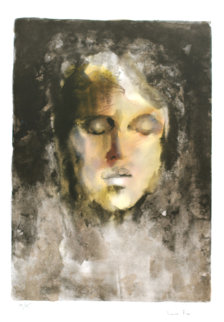 Visages Pour Delie, Portfolio of 12 Lithographs 1974 Limited Edition Print - Leonor Fini