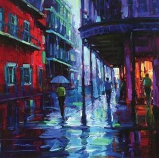 Bourbon Street 2009 Embellished Limited Edition Print - Michael Flohr