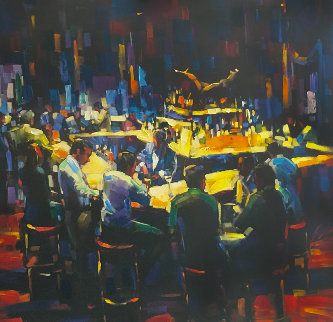 Stock Talk  Limited Edition Print - Michael Flohr
