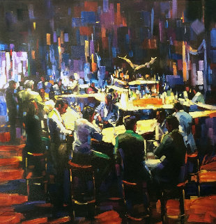 Stock Talk 2010 Limited Edition Print - Michael Flohr