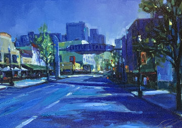 Little Italy 2007 Embellished Limited Edition Print - Michael Flohr