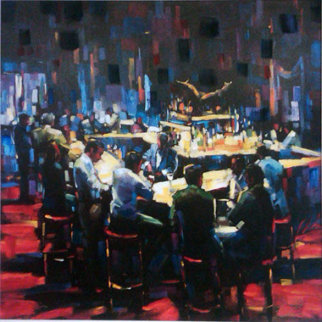 Stock Talk 2005  Limited Edition Print - Michael Flohr