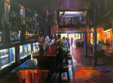 Cheers 2006 Embellished Limited Edition Print - Michael Flohr