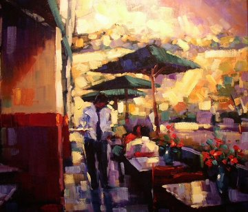 Lunch Date 2004 Embellished Limited Edition Print - Michael Flohr
