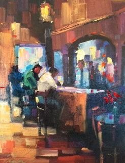 Serendipity Suite (Lady Luck And Good Medicine) Set of 2 Embellished 2004 Limited Edition Print - Michael Flohr