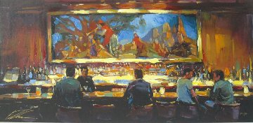 Martini Lounge AP 2008 Limited Edition Print - Michael Flohr