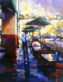 Lunch Date Embellished 2005 Limited Edition Print - Michael Flohr