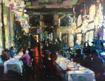 Crystal Cafe Embellished 2006 Limited Edition Print - Michael Flohr
