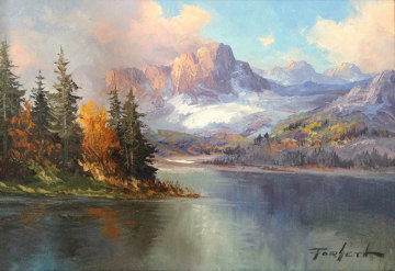 Pristine Wilderness 21x27 Original Painting - Caroll Forseth