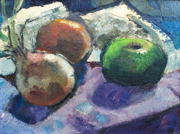 Study 1962 14x16 by Robert Frame