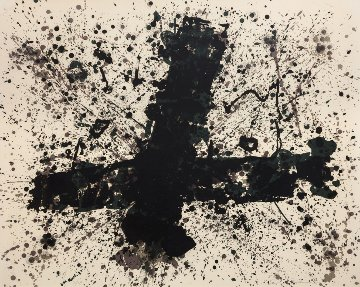 Burnout 1974 Limited Edition Print - Sam Francis